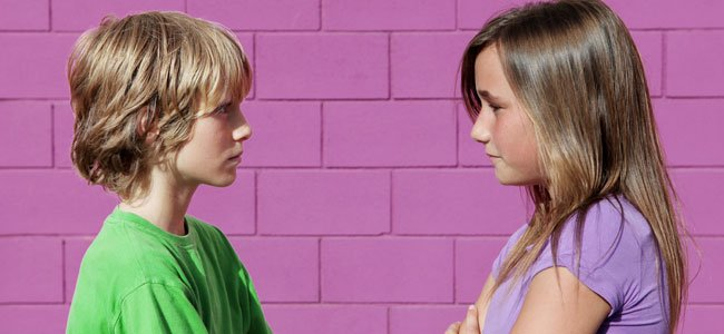 Niños y niñas preadolescentes