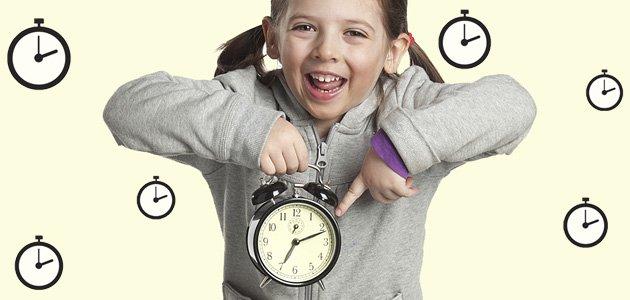 Cómo enseñar la puntualidad a los niños