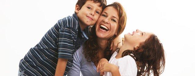 Risoterapia en familia