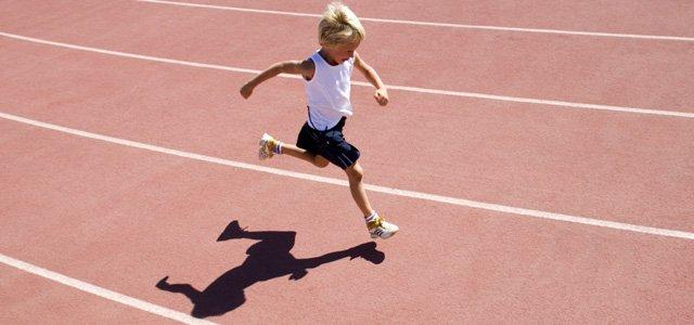 La practica del running para niños