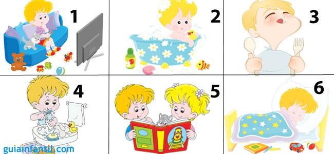 Cómo crear una tabla de rutinas para los niños 5c3aed998de6