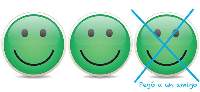 Sistema Smiley Face para mejorar el comportamiento del niño