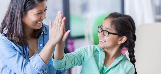 Educar con la tabla de puntos para niños
