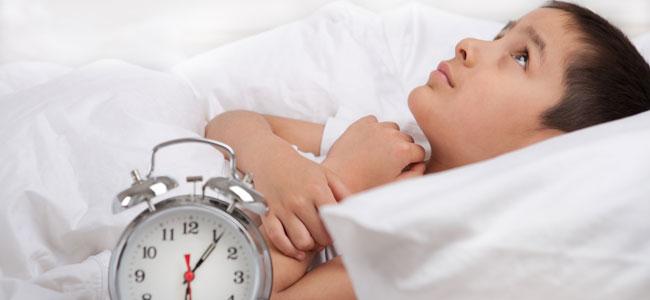Trastorno del sueño en niños TDAH