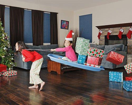 Fotos originales de travesuras de Navidad