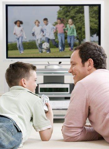 Violencia en televisión y niños
