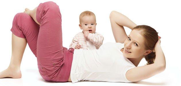 Como bajar de peso despues de tener un bebe