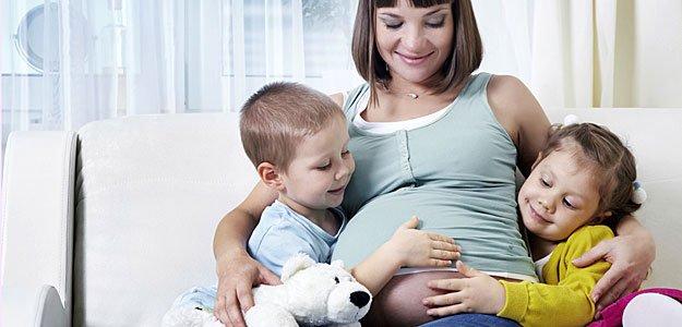 Mujeres adictas a estar embarazadas