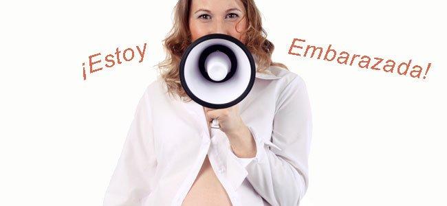 Cuándo anunciar que estás embarazada