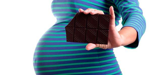 El chocolate para las embarazadas