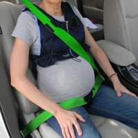 Chaleco para adaptar el cinturón de seguridad