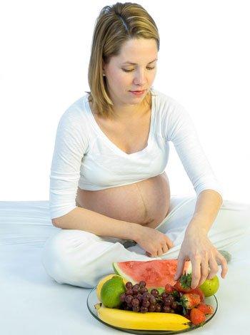 Dieta en la semana 37 de embarazo