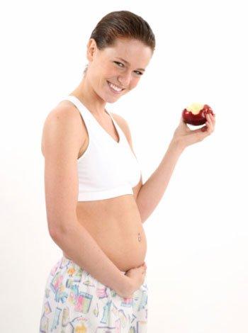 Dieta y alimentación en la semana 8 de embarazo