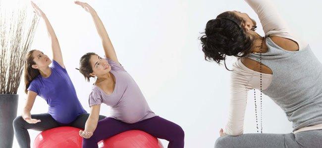 Ejercicios físicos para la embarazada