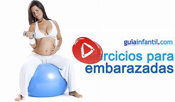 Baño De Tina Para Adelantar El Parto:Vídeo con ejercicios para fortalecer la espalda de la embarazada