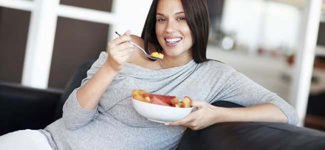 Dieta en la semana 1 a 4 de embarazo