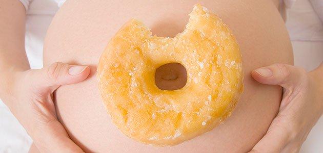 embarazada donut