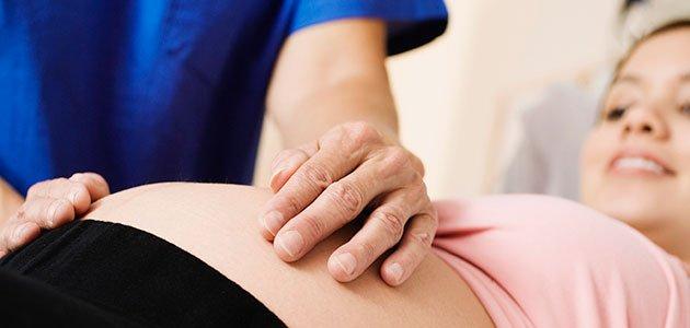 Embarazada en el médico