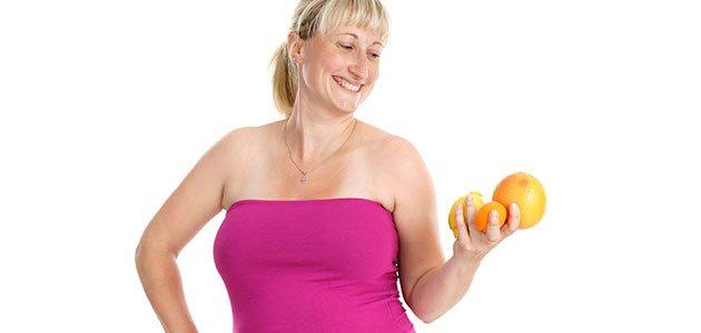 embarazada come fruta