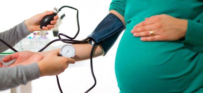 bajon de tension en el embarazo