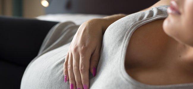 Embarazada-tumbada