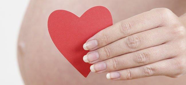 El embarazo mejora la salud del corazón