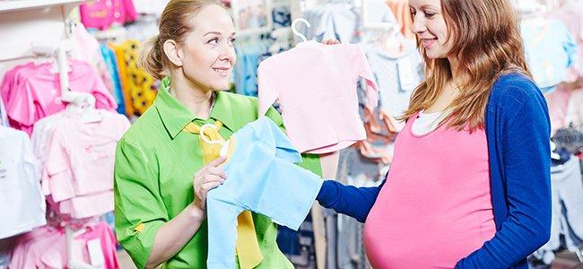Los gastos con la compra para el bebé