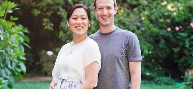 Mark Zuckerberg y Priscilla