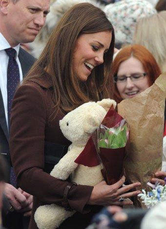 Kate Middleton desvela el sexo de su bebé