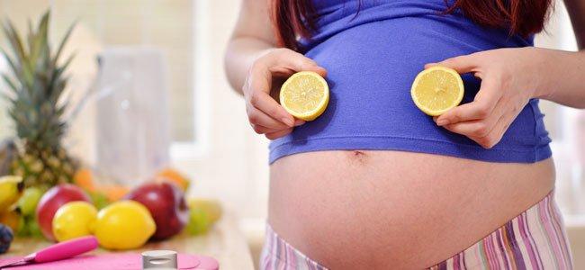 Beneficios del limón durante el embarazo