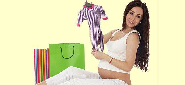Listado de compras para el bebé que va a nacer