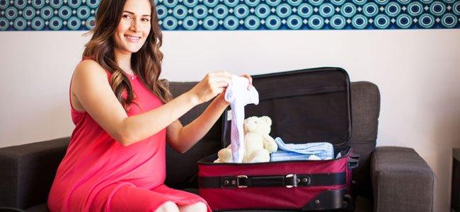 Lo que necesitas llevar al hospital para el parto