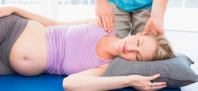 Tipos de masaje en el embarazo