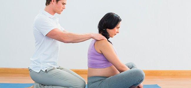 Masaje para la mujer embarazada