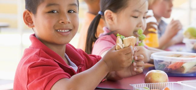 Menú para niños con diabetes