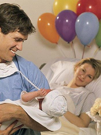 Papá en el parto