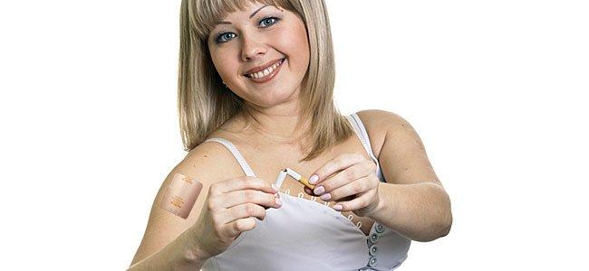 El uso de parche de nicotina en el embarazo