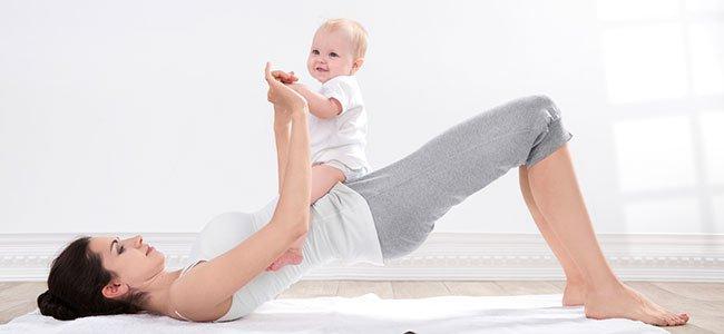 Perder barriga después del embarazo