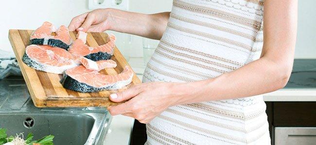 Consumir pescado en el embarazo