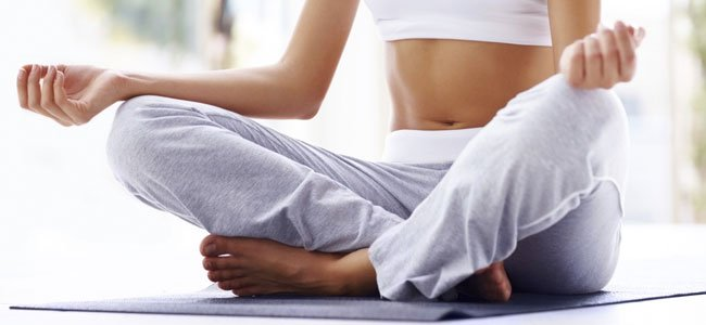 Posturas fértiles del yoga