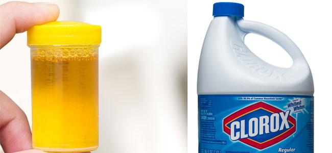 Prueba casera del cloro