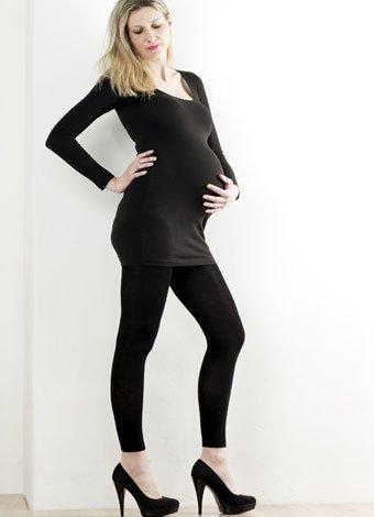 Zapatos con tacones durante el embarazo