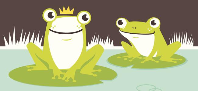 la rana cantando