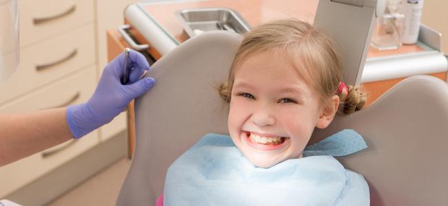 fluorización dental en los niños