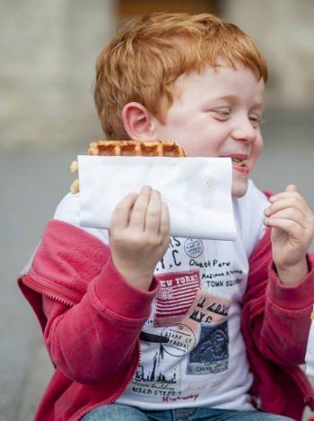 Comer en Bruselas con niños