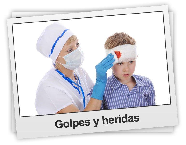 Golpes y heridas en los niños