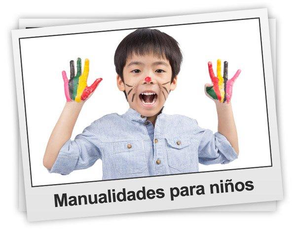 Manualidades infantiles. Trabajos de manualidades para niños materiales regalos papel y dibujos para colorear