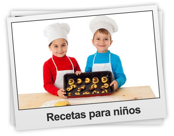 Recetas de cocina para niños y bebés