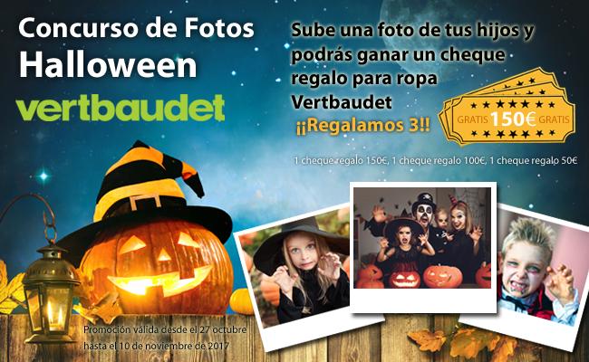 Concurso disfraces Halloween Verbaudet