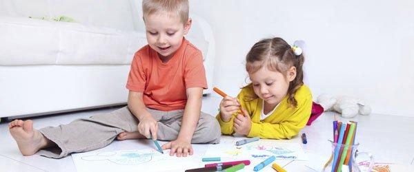 Dibujos para colorear con los niños